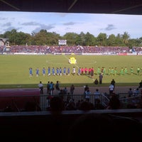 Photo taken at Stadion Wijayakusuma Cilacap by Aryo D. on 4/19/2013