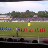 Photo taken at Stadion Wijayakusuma Cilacap by Aryo D. on 4/23/2013