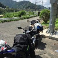 Photo taken at 笠置大橋 by uño 虎. on 8/13/2015