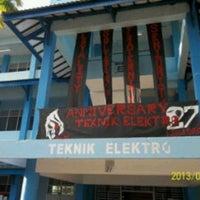 Photo taken at Fakultas Teknik Elektro Ukip by Eka P. on 9/6/2013
