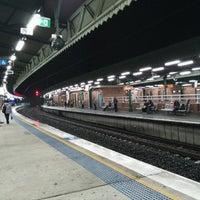 Photo taken at Strathfield Station (Platforms 7 & 8) by Rajataditya R. on 8/24/2016