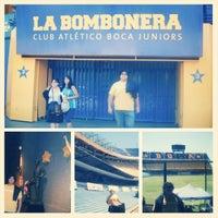 Photo taken at La Bombonera . ARG by Cesar P. on 1/4/2014