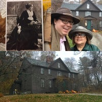 Photo taken at Louisa May Alcott's Orchard House by Miggy on 11/16/2016