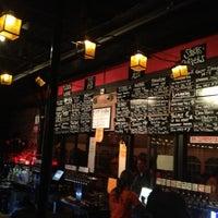 Photo taken at VBGB Beer Hall & Garden/Restaurant by DJ M. on 1/6/2013