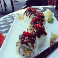 Photo taken at Hot Woks Cool Sushi by John L. on 9/15/2012