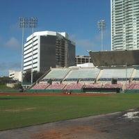 Photo taken at Al Lang Stadium by Jim D. on 12/11/2012