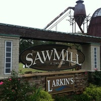 Photo taken at Larkin's Sawmill at North Main by NATHAN R. on 10/14/2012