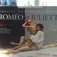 Photo taken at Pacific Northwest Ballet by Kathy J. on 2/10/2013