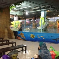 Photo taken at Tiram Water Park by Ahmad Z. on 10/28/2012