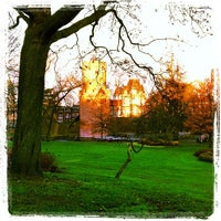 Photo taken at Kronenburgerpark by Tim v. on 11/29/2012