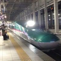 Photo taken at Shinkansen Sendai Station by ひとりざけ on 1/23/2013