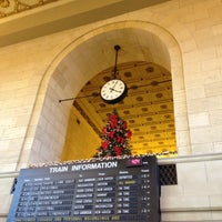 Photo taken at New Haven Union Station (NHV) - Metro North/Amtrak/Shore Line East by Dan T. on 11/23/2012