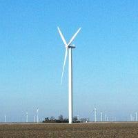 Photo taken at Meadow Lake Wind Farm by Paul Y. on 2/24/2013