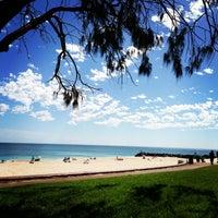 Photo taken at City Beach by Sharka K. on 4/7/2013
