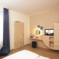 Photo taken at H2 Hotel Berlin Alexanderplatz by H-Hotels.com on 2/17/2017