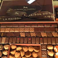 Photo taken at La Maison du Chocolat by Todd G. on 10/16/2012