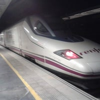 Photo taken at Albacete Railway Station - Los Llanos by FERNANDO JOSE Z. on 2/13/2013