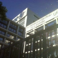 Photo taken at Universidad Argentina de la Empresa (UADE) by Facundo Daniel T. on 11/15/2012