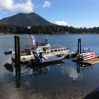 Photo taken at Jamie's Whaling Station Ucluelet by Wellington W. on 3/21/2014