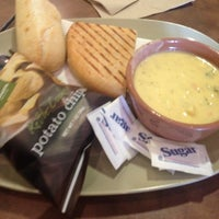 Photo taken at Panera Bread by McClifford G. on 1/23/2013