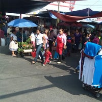 "Photo taken at Mercado Municipal Benito Juárez ""El Tepe"" by Chilaking Q. on 5/23/2013"