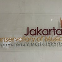 Photo taken at Jakarta Conservatory of Music by Dewi A. on 5/28/2014