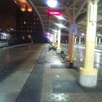 Photo taken at Stephanie Tubbs Jones Transit Center by Raijphinai H. on 9/21/2013