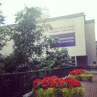 Photo taken at Birmingham Conservatoire by David A. on 8/22/2013
