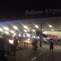 Снимок сделан в Международный аэропорт Пулково (LED) пользователем Елизавета Б. 9/12/2017