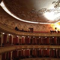 Снимок сделан в Театр им. Ивана Франко пользователем Yara P. 10/11/2012