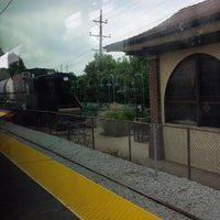 Photo taken at Homewood train station by Stacy V. on 8/30/2015