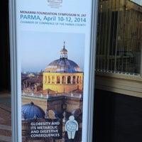 Photo taken at Camera di Commercio di Parma by Alberto E. on 4/9/2014