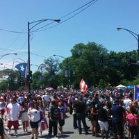Photo taken at Fiesta Boricua by LaConda M. on 6/15/2014