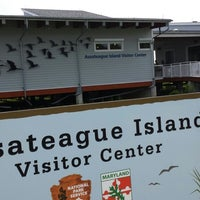 Photo taken at Assateague Visitor Center by Walter S. on 9/1/2013
