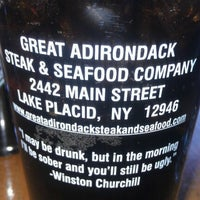 Photo taken at Great Adirondack Steak and Seafood by Rozetta F. on 11/18/2012