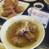 Photo taken at Xin Mei Le Bak Kut Teh by Ian T. on 3/4/2015