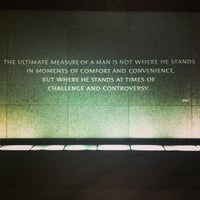 Photo taken at Martin Luther King, Jr. Memorial by Derek V. on 5/27/2013