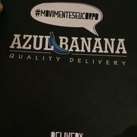 Photo taken at Azul Banana by Micarla O. on 10/22/2014