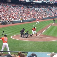 Photo taken at Oriole Park at Camden Yards by Dave F. on 8/24/2013