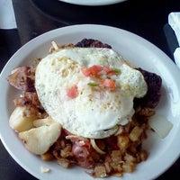 Photo taken at Three Angels Diner by Ken R. on 11/25/2012