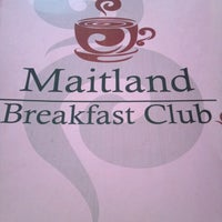 Photo taken at Maitland Breakfast Club by Kevin K. on 1/1/2013