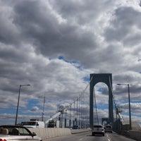 Photo taken at Throgs Neck Bridge by Beth F. on 9/22/2014