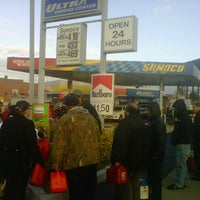 Photo taken at Sunoco by Beth F. on 11/4/2012