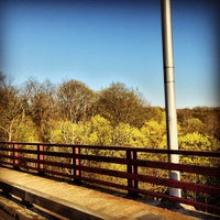 Photo taken at Frick Park by Justin R. on 4/22/2013