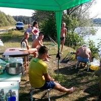 Photo taken at Озеро Інженерне, Яворівський полігон by Alina B. on 8/9/2015
