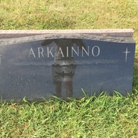 Photo taken at Sacred Heart Cemetery by Kymmr B. on 8/5/2015