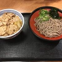 Photo taken at そば処 吉野家 宇治槙島店 by Shigeyuki H. on 5/4/2016