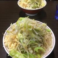 3/10/2016にのん 紫.がラーメン二郎 新潟店で撮った写真