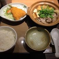 Photo taken at やよい軒 長崎空港通り店 by たあぼ雷帝 on 12/26/2015