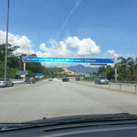 Photo taken at Plaza Tol Kuala Kangsar by Adeeb N. on 2/9/2013